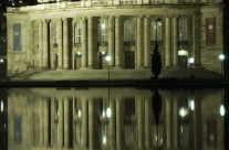 Staatsoper in Stuttgart – Nachtaufnahme