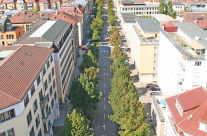 Stuttgart Straßen Allee