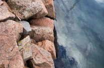 Steine und Wasser (Elemente der Natur) / Stone and Blue Water (Elements of Nature