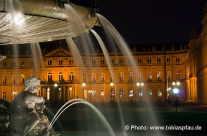 Stadt Stuttgart – Brunnen am Schloßplatz