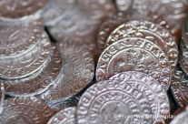 alte Münzen – Mittelaltermarkt in Horb