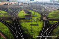 Rangierbahnhof und Gleisstellplätze