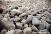 Granitsteine am Meer