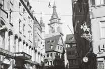 Stuttgart Stadtansicht um ca. 1940 / 1950