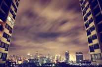 Apartment block – city panorama