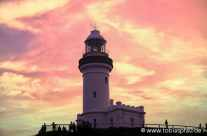 Sunset at Byron Light House