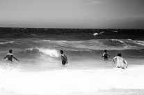 Surfer – zu starke Wellen