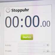 Gratis Zeiterfassung für PC mit App für Apple iPhone + Android