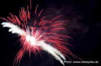 Feuerwerk – Spiralenexplosion